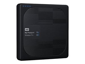 "WD My Passport Wireless Pro 2TB Ext. 2.5"" USB3.0, SD slot"