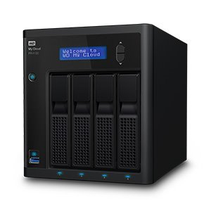 "WD My Cloud PR4100 NAS 32TB (4x8TB) 2x3.5"" Raid, 2x GLAN (RJ45), 3x USB 3.0"