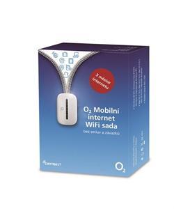 O2 Mobilní internet sada (SIM, 3G WiFi router, 3 měsíce předplaceného internetu)