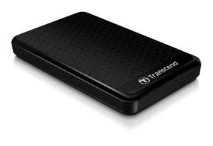 "Transcend StoreJet 25A3 1TB ext. HDD 2.5"" USB 3.0, Anti-Shock, 256-bit AES, černý"