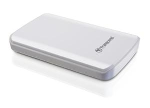"Transcend StoreJet 25D3 1TB ext. HDD 2.5"" USB 3.0, Anti-Shock, 256-bit AES, bílý"