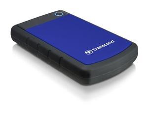 "Transcend StoreJet 25H3B 2TB ext. HDD 2.5"" USB 3.0, Anti-Shock, černo/modrý"