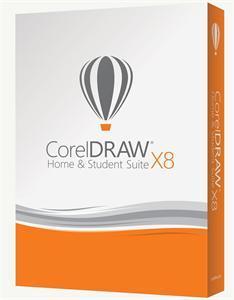 CorelDRAW Home & Student Suite X8 CZ