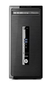 HP ProDesk 400 G3 Microtower i3-6100/ 4GB/ 1TB/ DVDRW/ HD530/ VGA/ DP/ COM/ USB3.0/ GLAN/ W10P