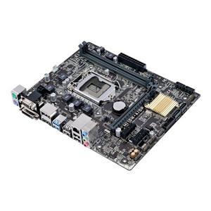 ASUS H110M-A/DP/C/SI 1151/H110,VGA,DVI,HDMI,DP,Gbe,PCI-e 3.0/16,4xSATA3,4xUSB3.0,2xDDR4/2133,mATX