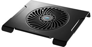 """COOLERMASTER chladicí podstavec NOTEPAL CMC3 pro NTB 12-15"""", 20cm ventilátor, černý"""