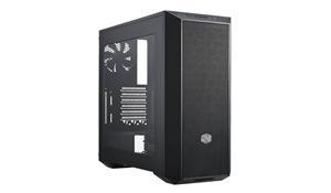 CoolerMaster case miditower modular series MasterBox 5, ATX,black, USB3.0, 600W B2, průhledná bočnice