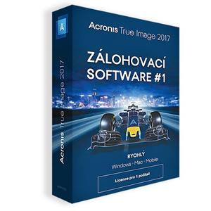 Acronis True Image 2017 - 1 Computer - Upgrade BOX CZ