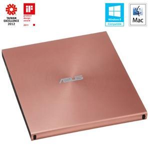 ASUS SDRW-08U5S-U/PINK, externí slim DVD-RW,růžová