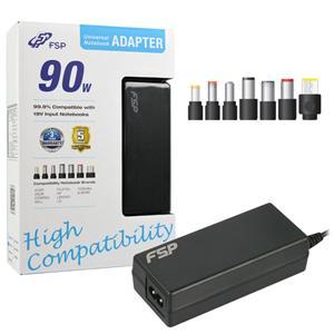 Napájecí adaptér k notebooku, Fortron FSP NB 90 CEC, 90W, 19V, 7 koncovek