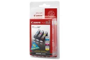 Canon inkoustová cartridge CLI-521 C/M/Y (multipack) + 50x PP-201 pro iP3600/iP4600/MP540/MP620/MP630/MP980