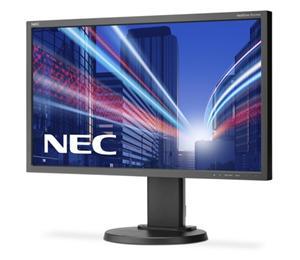 "24"" NEC E243WMi - 1920x1080, IPS, W-LED, 250cd, D-sub, DVI, DP, Repro, černý"