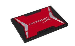 "Kingston SATA3 2.5"" SSD disk 120GB HyperX SAVAGE SSD, čtení 560MB/s, zápis 360MB/s, výška7mm+adapter"
