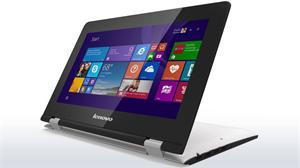 """Lenovo IdeaPad YOGA 300 Pentium-QC N3710 2,56GHz / 4GB / SSHD 500GB+8GB / 11.6"""" HD /IPS/ multitouch / WIN10 bílá"""