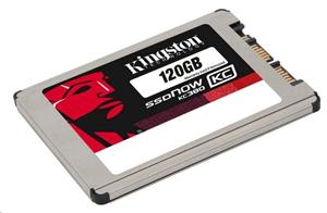 "Kingston SATA3 1.8"" SSD disk 120GB SSDNow KC380, čtení 550MB/s, zápis 520MB/s"