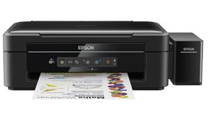 Epson L386/MFZ , A4, 5760x1440dpi,4 int.tankový systém náplní, 33/15 černě/barevně /Wifi/ USB