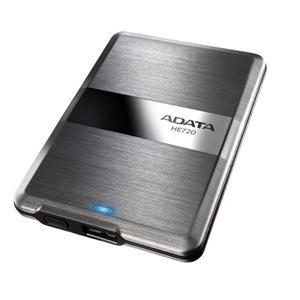 """ADATA HE720 1TB Externí HDD 2.5"""", USB 3.0, Silver - nerezová ocel"""