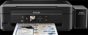 Epson L486/MFZ /LCD/ A4, 5760x1440dpi,4 int.tank.s.náplní, 33/15 černě/barevně /Čtečka/ Wi-Fi/ USB