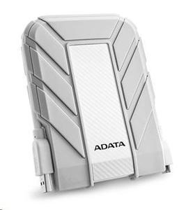 """ADATA HD710A 1TB Externí HDD 2.5"""", USB 3.0, nárazu/vodě-odolný, bílý pro MAC"""