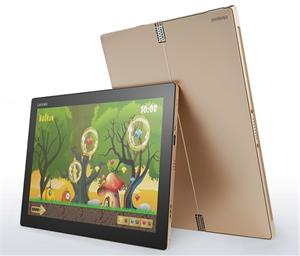 "Lenovo Tablet MiiX 700 M3-6Y30 2,20GHz / 4GB / 128GB SSD / 12"" FHD+IPS / multitouch / KBRD CASE / WIN10 zlatá 80QL013UCK"