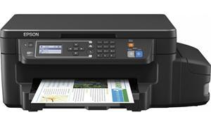 Epson L605/MFZ / LCD, A4, 4800x1200dpi,4 int.tankový systém náplní, 33/20 černě/barevně /Duplex/LAN/Wifi/USB