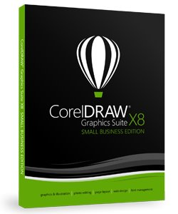 CorelDRAW Graphics Suite X8 Small Business Edition Box CZ/PL
