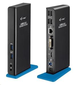 iTec USB3.0 Docking Station Advance DVI FullHD+ Gigabit Ethernet
