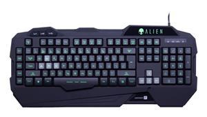 CONNECT IT CI-553 ALIEN podsvícená klávesnice pro hráče,USB