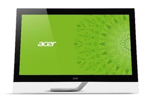 "27"" ACER T272HULbmidpcz, 2560x1440, TouchScreen,100M:1, 5ms, DVI, HDMI, DP, USB, repro, LCD, IPS LED, Black"