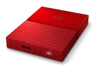 "WD My Passport 1TB Ext. 2.5"" USB3.0, Red"