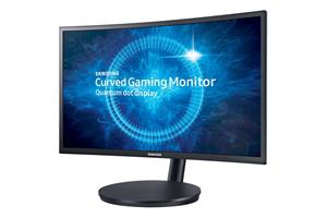 "23.5"" LCD Samsung C24FG70 prohnutý, VA LED, 1920x1080, 1ms, 2xHDMI, DP, Pivot, tmavě modročerný"