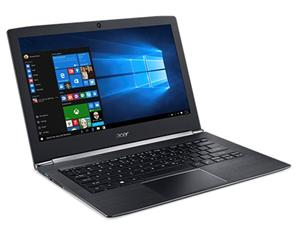 "ACER Aspire S 13 (S5-371-33VS) Ci3-7100U/4GB/128GB SSD/13.3""FHD LED/USB3.0/WF/BT/Cam/W10, Black"
