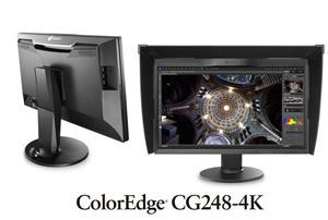 "EIZO 24"" LED CG248-4K-BK UHD (4K) 3840x2160/ IPS/ 16:9/ 14ms/ 350cd/m2/ 2xDP/ 2xHDM/ černý"