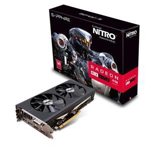 Sapphire Radeon NITRO RX 470 / PCI-E / 8GB GDDR5 / dual HDMI / DVI-D/ dual DP OC