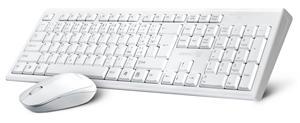 CONNECT IT CI-1118 COMBO bezdrátová bílá klávesnice + myš, CZ + SK