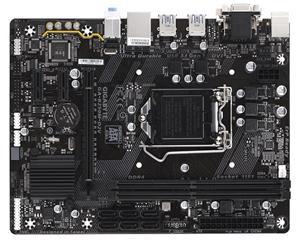 GIGABYTE B250M-D2V 1151/B250,VGA,DVI,Gbe,PCI-e x16,6xSATA3,USB3.1,2xDDR4/2400,mATX