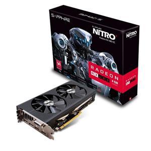 Sapphire Radeon NITRO RX 480 / PCI-E / 4GB GDDR5 / dual HDMI / DVI-D/ dual DP OC