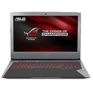 """ASUS G752VS i7-7820HK/32GB/1TB+2x256GB SSD/DVD-RW/17.3"""" FHD IPS/nV GTX1070 8GB/HDMI+miniDP/WL/BT/Cam/USB3.1/W10"""
