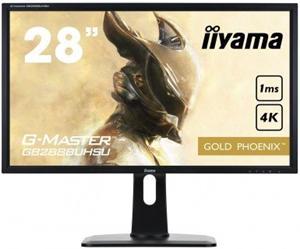 "28"" Iiyama LCD LED G-Master GB2888UHSU-B1 3840x2160 4K,1ms,3xHDMI,DP,USB 3.0 Hub,repro,pivot,černá"