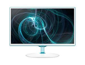 """24"""" LCD Samsung T24D391EI, PLS LED, 1920x1080, 5ms, MEGA kontrast, 2xHDMI, USB, PIP+, DVB-T2/C, CI, Repro, bílý"""