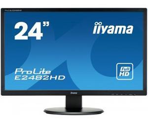 """24"""" Iiyama LCD LED Prolite E2482HD-B1 1920x1080 FHD,5ms,VGA,DVI,černá"""