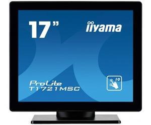 """17"""" Iiyama LCD LED ProLite T1731MSC-B1 1280x1024,Multitouch,5ms,VGA,DVI,USB,repro,černá"""