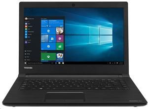 """Toshiba Satellite Pro R40-C-128, Pentium 4405U/4GB/750GB/14"""" HD/HD510/WF/BT/CAM/USB3.0/W10,černá"""