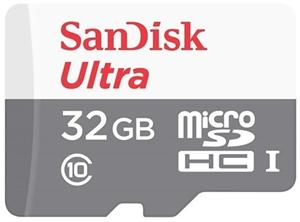 32GB Micro Secure Digital UHS-I SanDisk Ultra Android (až 48MB/s)