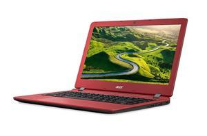 "ACER Aspire ES 13 (ES1-332-P1GA) PQC N4200/4GB/64GB/13.3""HD LED/HDMI/USB3.0/WF/BT/Cam/W10, Black/Red"