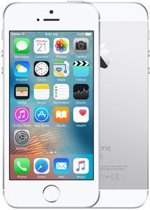 Mobilní telefon Apple iPhone SE 128GB - stříbrný