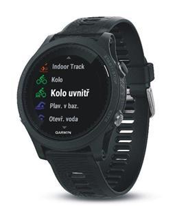 Garmin Forerunner 935 Black/Blue, sportovní hodinky