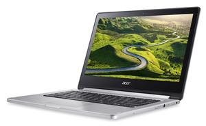 "ACER Chromebook R 13 (CB5-312T-K1RC) QC MT8173/4GB/64GB/13.3""FHD Touch LED/HDMI/USB3.0/WF/Cam/Google Chrome OS, Silver"