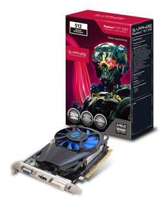 Sapphire Radeon R7 250 / PCI-E/ 1GB DDR5/ 512SP Edition/ DVI/ HDMI