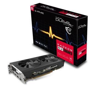 SAPPHIRE PULSE RADEON RX 570 OC / 4GB GDDR5 / PCI-E / 2x HDMI / DVI-D / 2x DP / active